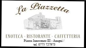Grazie al Ristorante La Piazzetta ce gentilmente offrirà la cena agli artisti della serata di Venerdì 4